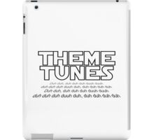 Theme tunes iPad Case/Skin