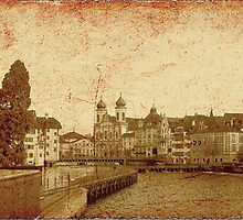 Vintage PostCard from Lucerne by PrivateVices
