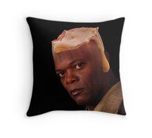 Caram L Jackson Throw Pillow