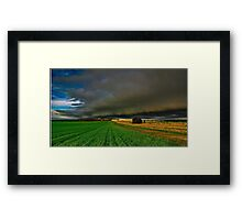 """""""Here It Comes"""" Framed Print"""
