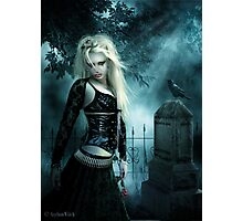 Midnight's Sorrow Photographic Print