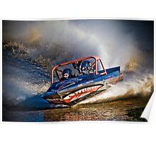 """""""Az-U-Do"""" - V8 Jetboat Poster"""