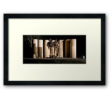 """Australian Army National Memorial""  Framed Print"