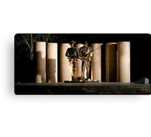 """Australian Army National Memorial""  Canvas Print"