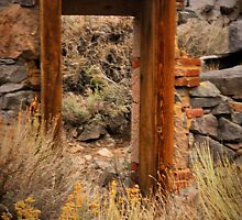 A Doorway To......... by Barbara  Brown