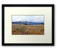Don't Fence Me In - Capertee Valley NSW Australia Framed Print