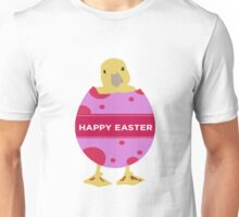 Happy Easter Chick Unisex T-Shirt