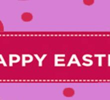 Happy Easter Chick Sticker