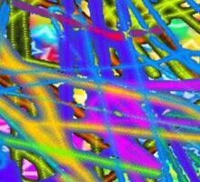 Crazy colours  Sticker