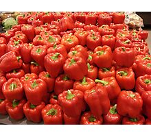 Bell Peppers Photographic Print