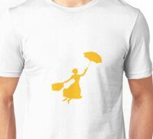 Orange Miss Poppins  Unisex T-Shirt