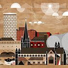 Brum Cityscape by Brumhaus