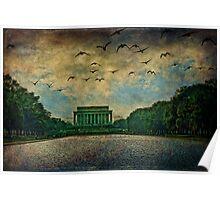 The Lincoln Memorial, Washington D.C. Poster