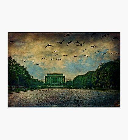 The Lincoln Memorial, Washington D.C. Photographic Print