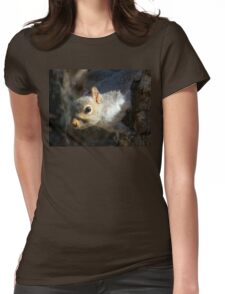 Eastern Gray Squirrel (Sciruus carolinensis) Womens Fitted T-Shirt