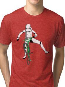 stormtrooper on a bike Tri-blend T-Shirt