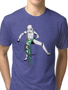 stormtrooper on a bike Tri-blend T-Shirt