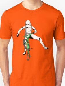 stormtrooper on a bike Unisex T-Shirt