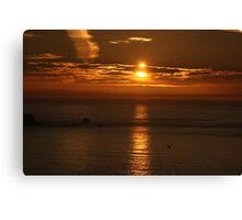 Land's End Sunset Canvas Print