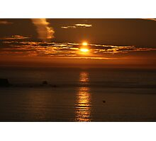 Land's End Sunset Photographic Print