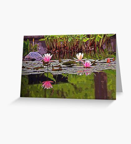 Pond of Dreams Greeting Card