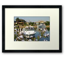 Park you Cruiser in your Backyard - :) Framed Print
