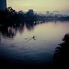 Yarra River Melbourne Kayak #2 by Chris Muscat
