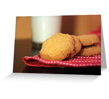 Cookies and Milk Greeting Card