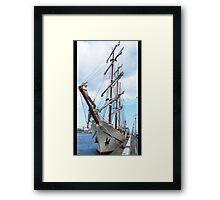 Artemis- Tall Ships Race Framed Print