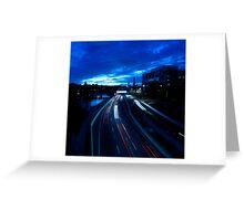 Information Superhighway Greeting Card