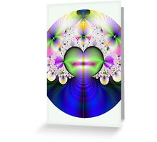 Hearts n Flowers Greeting Card