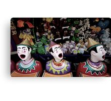 Clowns and Carnivals Canvas Print