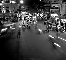 Hanoi: it's all a blur! by docophoto
