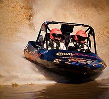 """""""Conti Racer"""" - V8 Jetboat by John Quixley"""