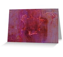 Wine Stains Greeting Card