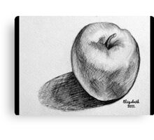 An apple a day.... Canvas Print