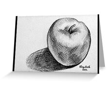 An apple a day.... Greeting Card