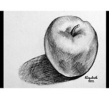 An apple a day.... Photographic Print