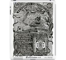 Astrophilus & Xenologia Print - White iPad Case/Skin