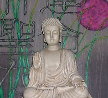 White Buddha and Divine Destiny by wigget