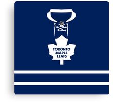 Toronto Maple Leafs Home Jersey Canvas Print