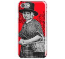 Red hearth2 iPhone Case/Skin