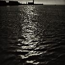 On a skipping stone, I follow my path of light by clickinhistory
