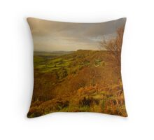 Sutton Bank, North Yorkshire Moors Throw Pillow