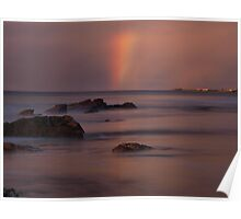 Sunsets and Rainbows Poster