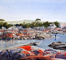 Bay of Fires, Tasmania by Joe Cartwright