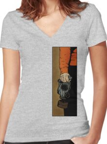 Drawing Day 2010 - Fresh Air Women's Fitted V-Neck T-Shirt