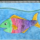Rainbow Fish World Drawing Day 2010 by CraftyThings