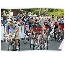 Lance Armstrong and Team Radio Shack Poster