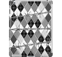 Argyle and Wire Skewers iPad Case/Skin
